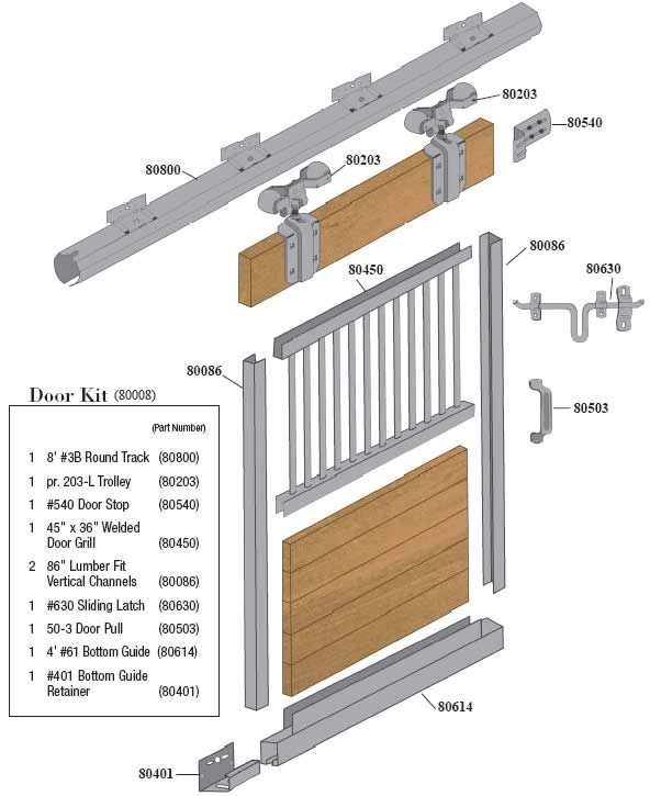 Western Products Of Indiana Horse Stalls 187 Sliding Door