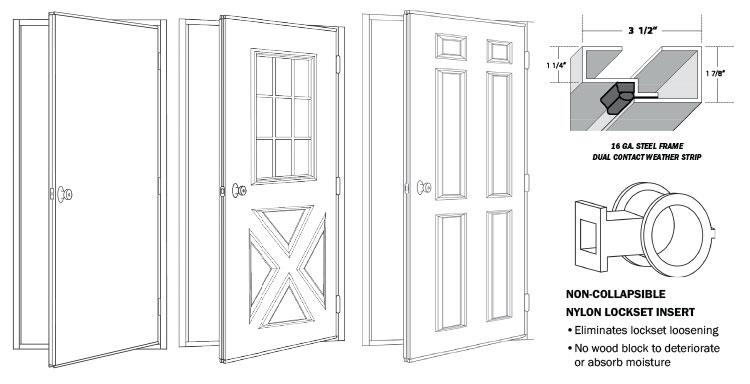 Standard Entry Door